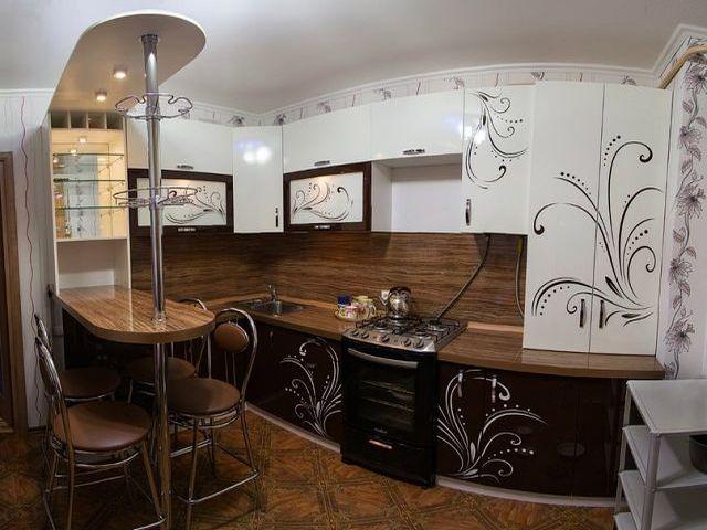 мини бар на кухне